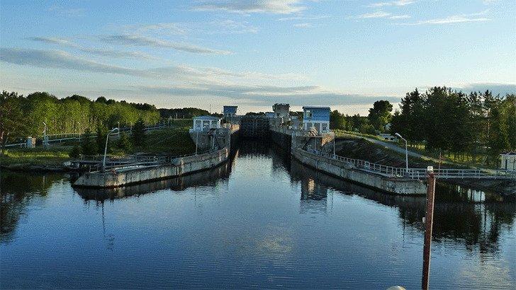 Беломорско Балтийский канал