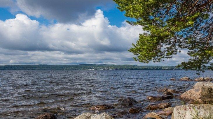Онежское озеро где