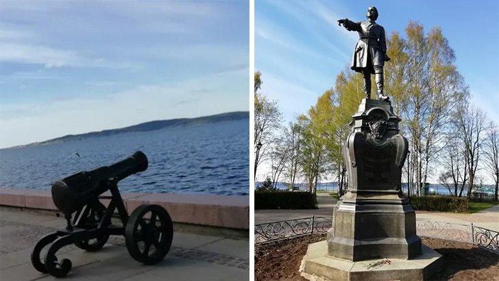 Памятник Петр Первый
