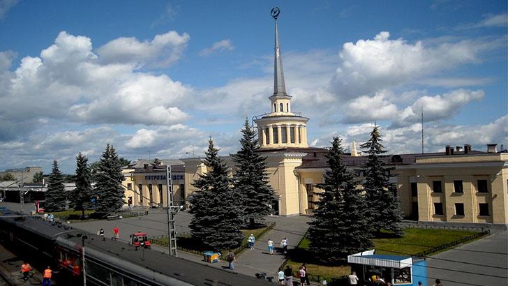 жд вокзал Петрозаводск