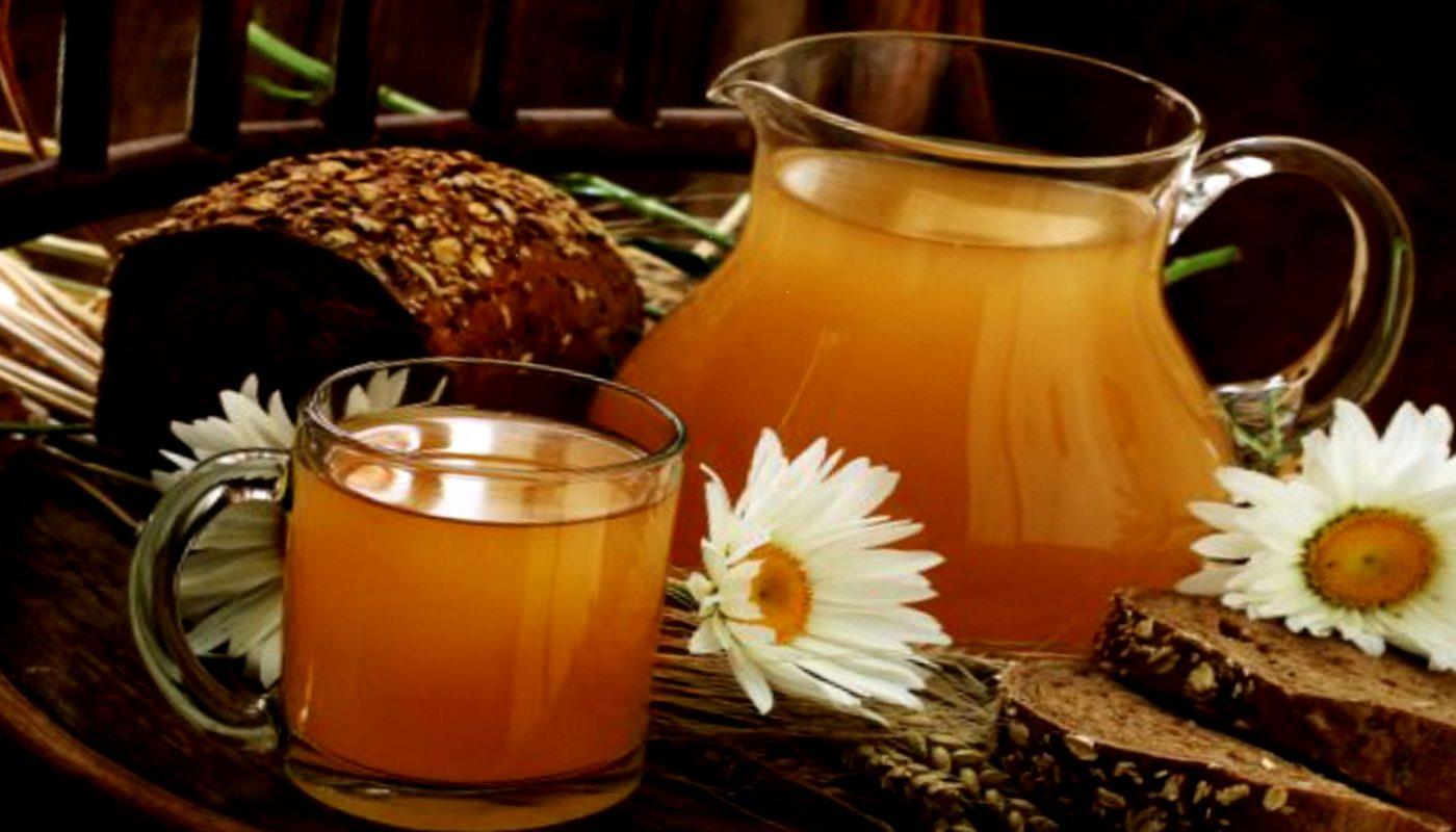 Вкусный хлебный квас без дрожжей в домашних условиях: рецепт ржаной закваски